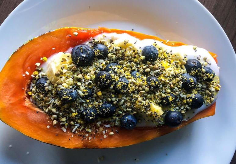 Collagen Papaya Boat Recipe